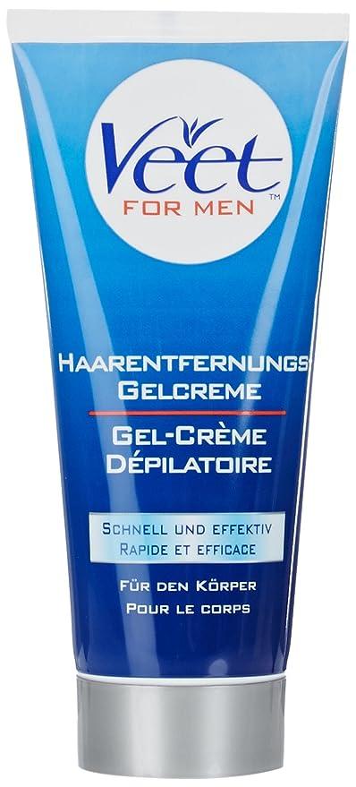 Veet Gel Depilatoria para Hombre, Piel Normal - 200 ml ...