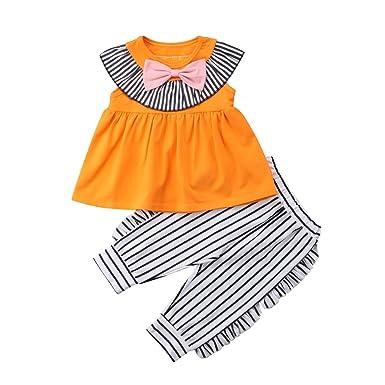 be4de9c81 Amazon.com  Toddler Kids Baby Girl Fashion Ruffles Shirts Tops ...