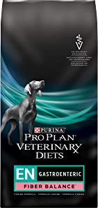 Purina Pro Plan Veterinary Diets EN Gastroenteric Fiber Balance Canine Formula Dry Dog Food - 32 lb. Bag