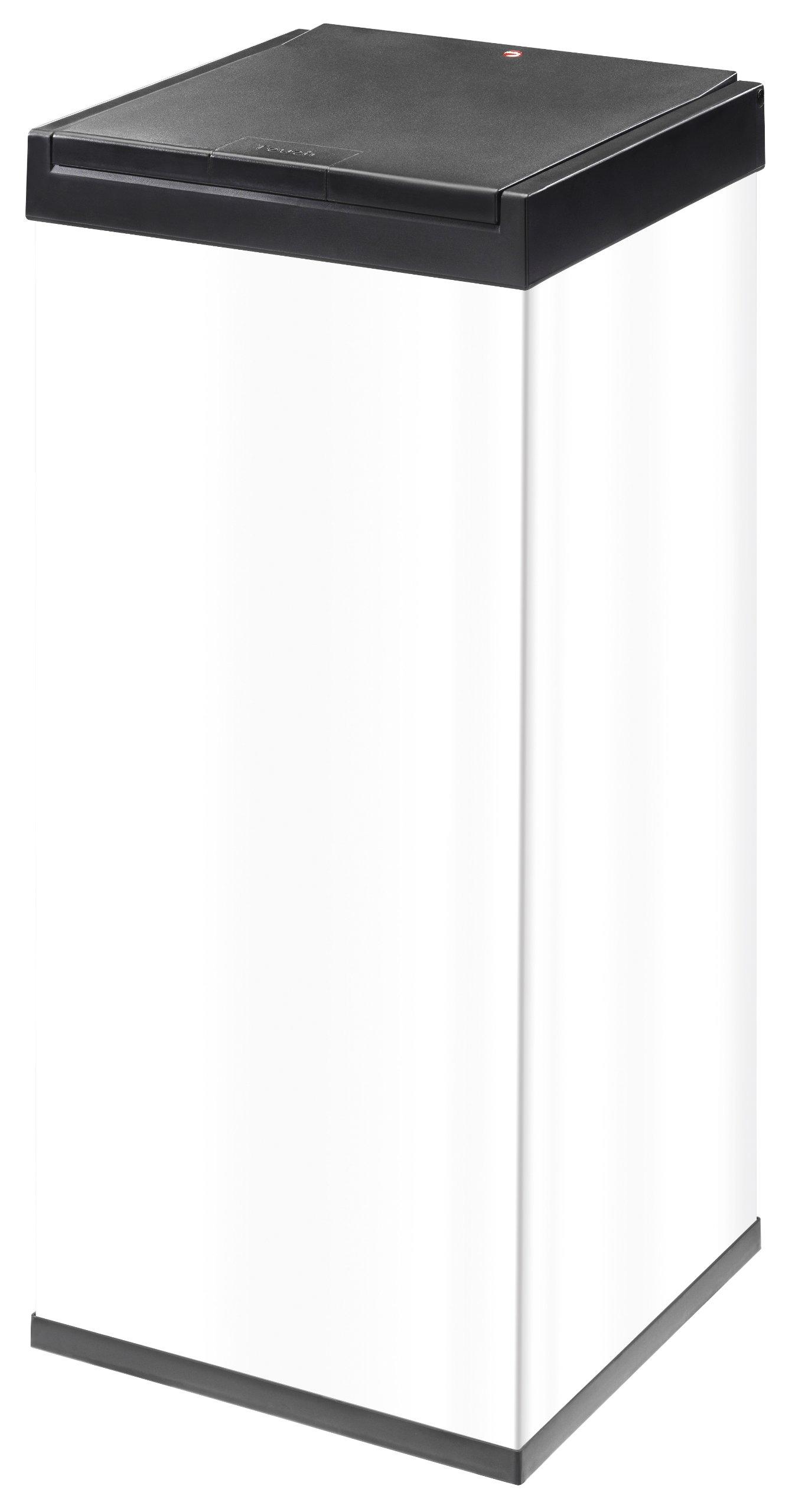 Hailo Big Box 80 Touch Waste Bins, White