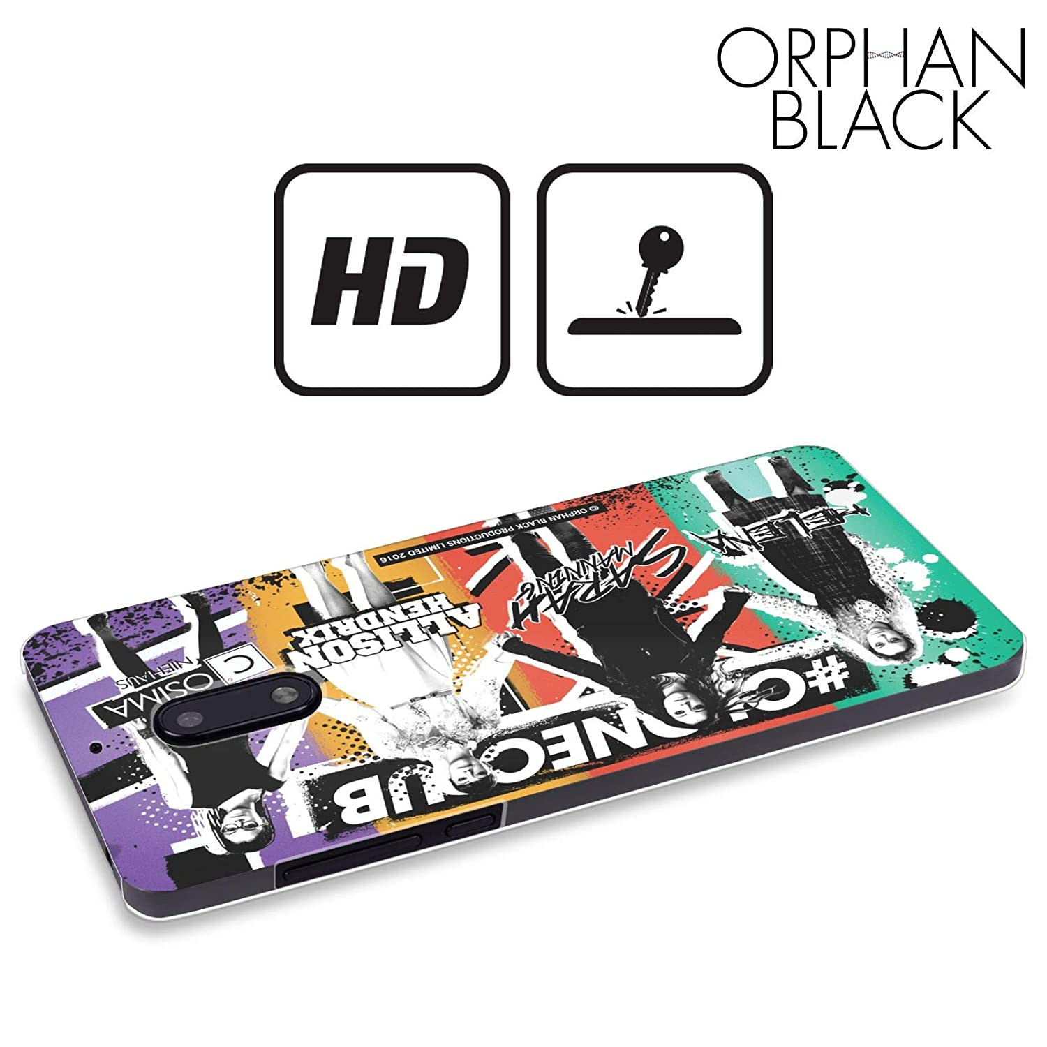 Amazon.com: Official Orphan Black Landscape #cloneclub Hard ...