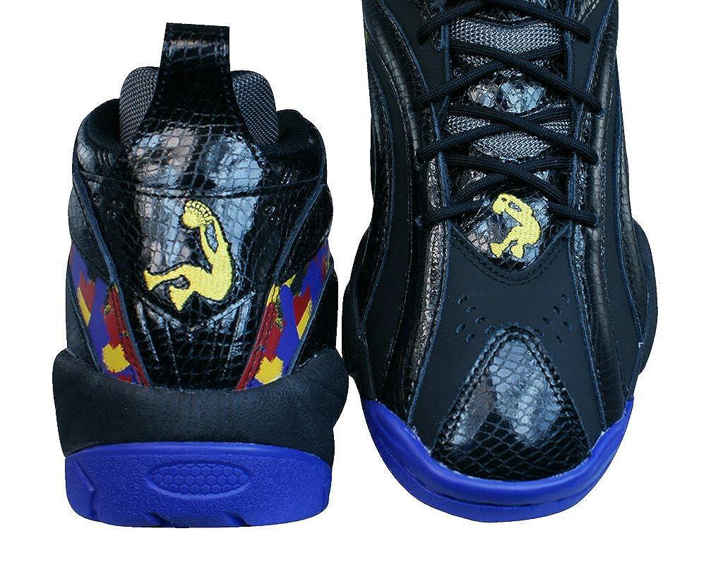 cfe8714c337 Reebok Classic Shaqnosis OG Mens Leather Mid Top Sneakers-Black-8   Amazon.ca  Shoes   Handbags