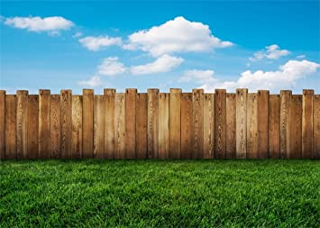 Farmland 8x10 FT Photo Backdrops,Wooden Garden Plank with Swirled Spring Season Bloom Up Tranquil Serene Landscape Background for Child Baby Shower Photo Vinyl Studio Prop Photobooth Photoshoot