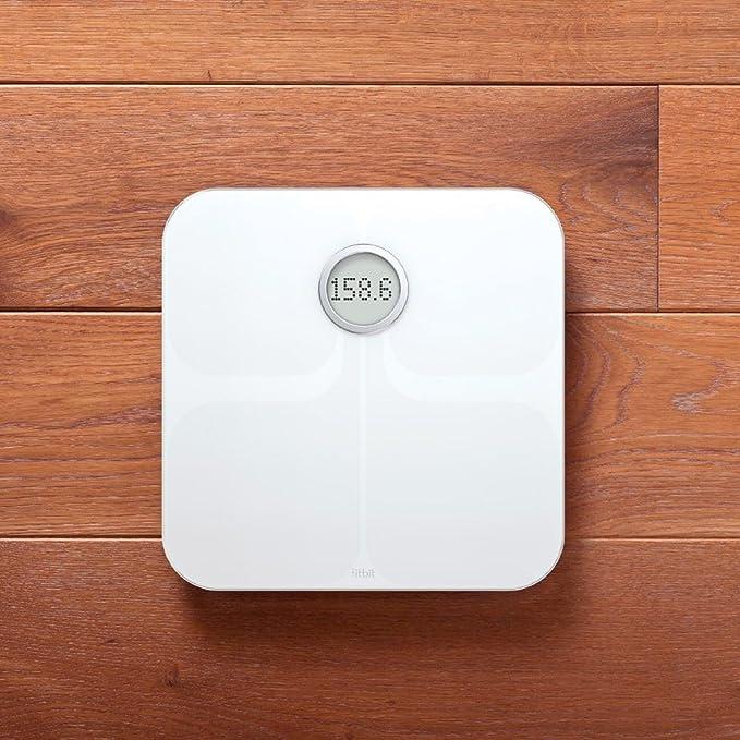Amazon.com: Báscula inteligente Fitbit Aria con Wifi ...