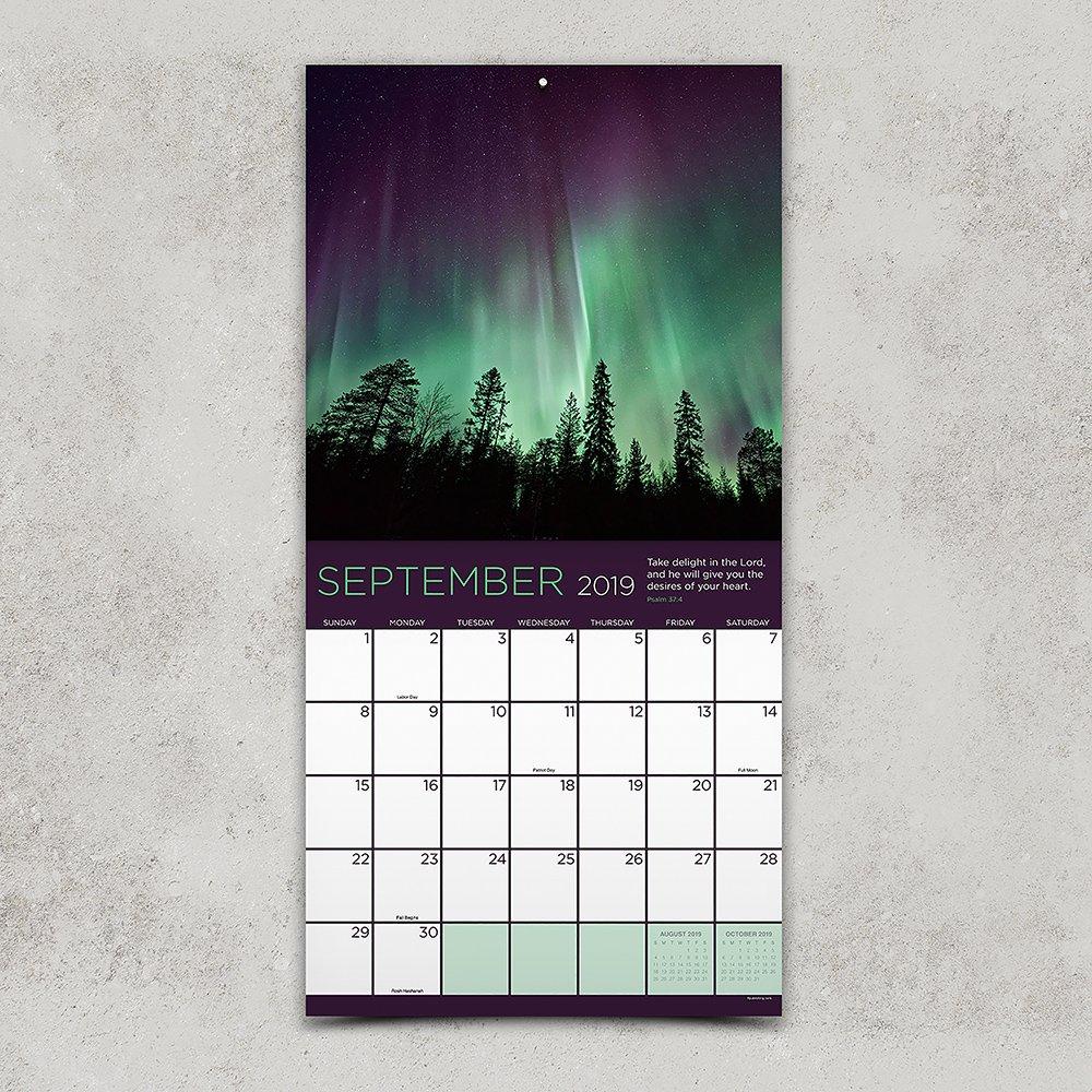 Amazon.com: Psalms 2019 - Calendario de pared (4.7 x 4.7 in ...