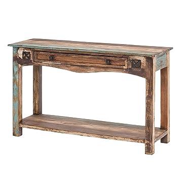Mobel Ideal Konsolentisch Holz Bunt 120cm Breit Kommode Im Vintage