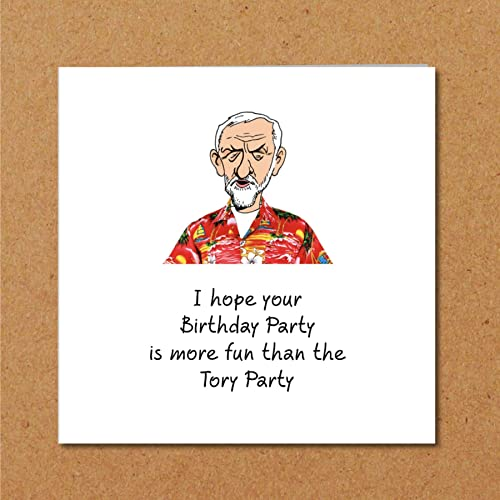 Jeremy Corbyn Birthday Card