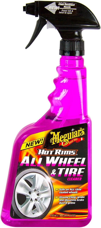 Meguiar S Meguiars Hot Rims Felgenreiniger 710 Ml Mikrofaser Felgenbürste Auto