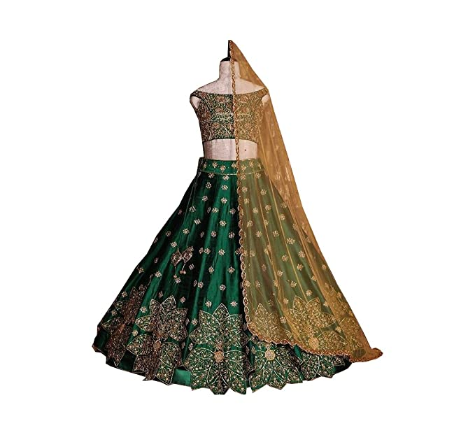 349f71b615 Image Unavailable. Image not available for. Colour: AMIT FASHIONS Indian  Designer Lehenga Choli for Women
