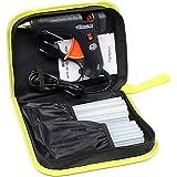 LeaderPro 60W Pistola de Encolar viene una Bolsa y 20 Psc Barras de Pegamentos, Alta Temperatura Pistola de pegamento para Inicio de Reparación Rápida/Kits de Artesanía de Bricolaje