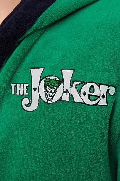 Batman - Albornoz Del Joker - Con La Licencia Oficial De DC Comics ...