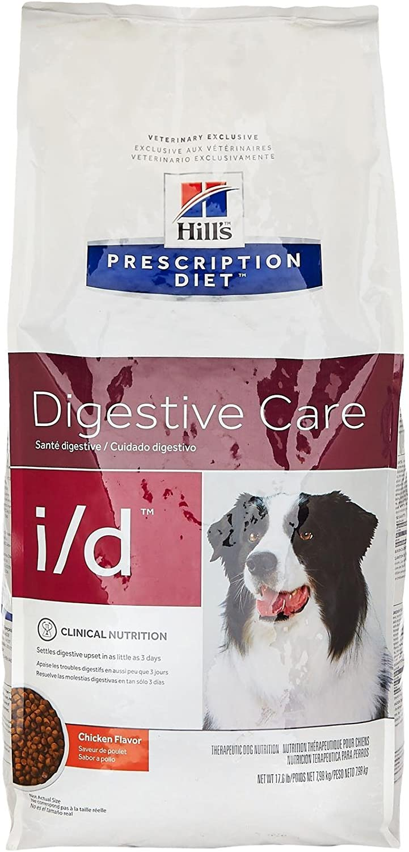Hill'S Prescription Diet I/D Gastrointestinal Health Dry Dog Food 17.6 Pounds