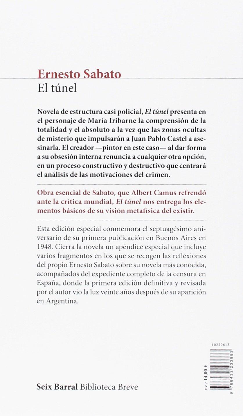 El Túnel Ernesto Sábato 9788432233883 Amazon Com Books