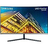 Samsung U32R592 - Monitor Curvo sin marcos de 32'' 4K (3840x2160, LED, UHD, 60Hz, 4ms, sin HDR10, 1500R, 2500:1, ajuste…