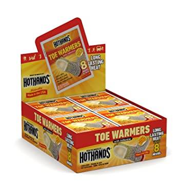 Fresh Stock Manufactured 2015 HotHands Toe Warmers Individually Wrapped Packs -12 Pairs
