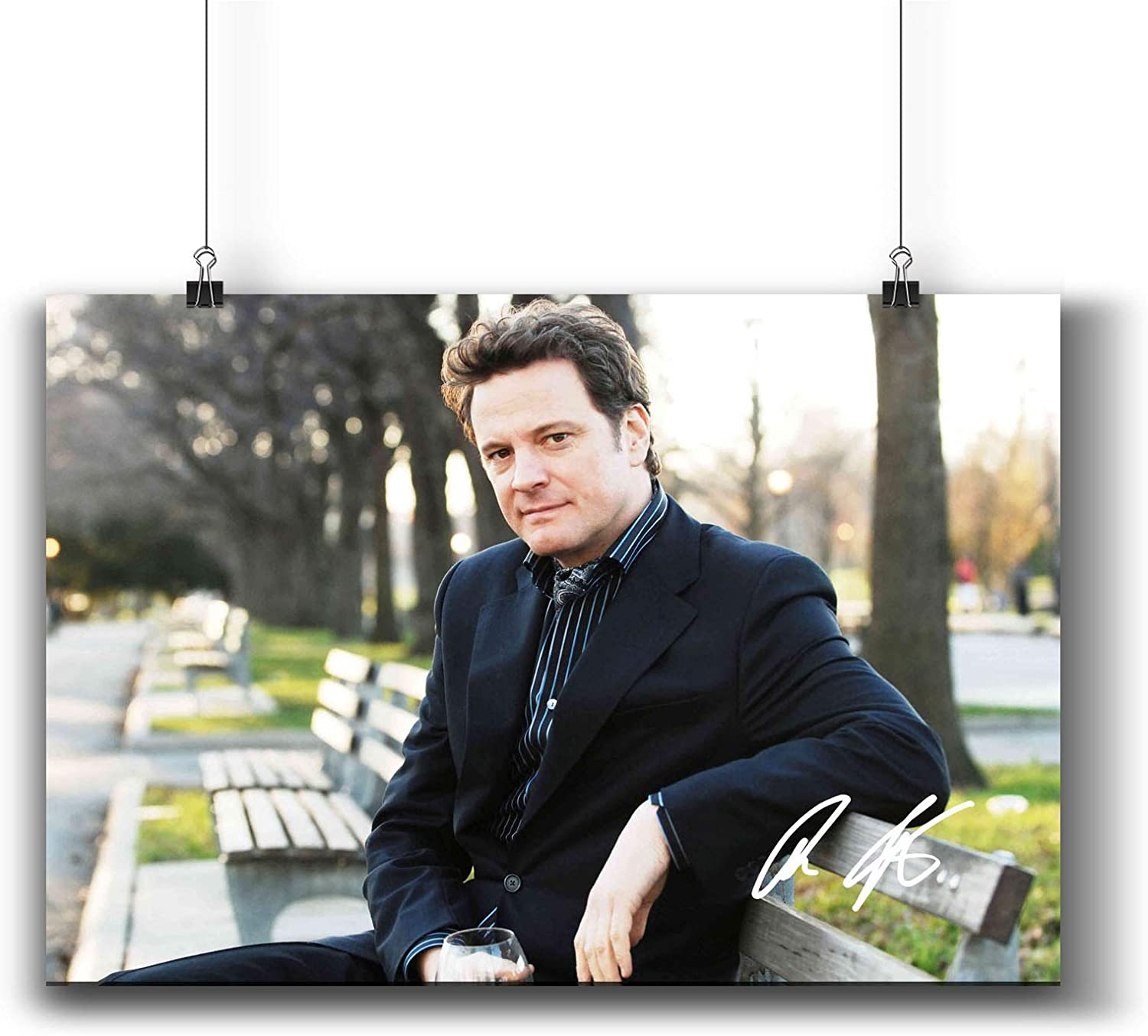 Colin Firth Actor Movie Photo Poster Prints 006-003 Reprint Signed,Wall Art Decor for Dorm Bedroom Living Room (A4|8x12inch|21x29cm)