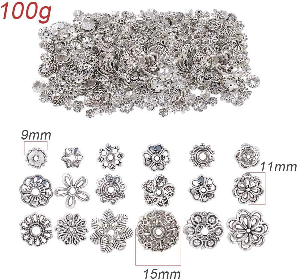 Pour vos creation bijoux bracelet collier 20 Perle Etoile 9mm Mixte