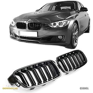 GCP BMW F30 F31 nieren doble puente Sport enfriador Barbacoa brillo negro: Amazon.es: Coche y moto