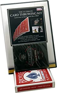 Rock Ridge Magic Ultimate Card Throwing Kit - All of The Tools to Make You Look Like a Pro