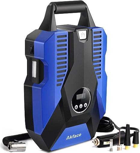 Akface Compresor de Aire Coche,Inflador Coches Portatil,Inflador ...