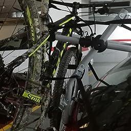 Flauraud 160617 Green Valley - Porta-Bicicleta Trasero Portón - 3 Bicis: Amazon.es: Coche y moto