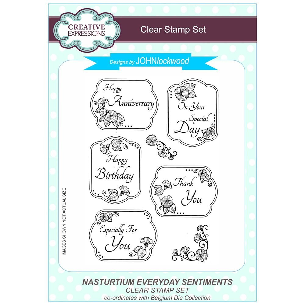 Creative Expressions Polymer Stamp, A5 CEC775