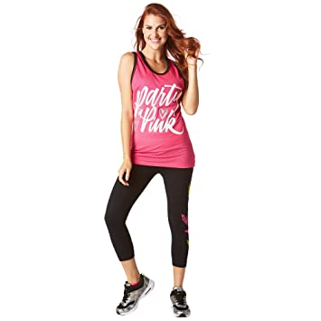 Zumba Fitness A0p00357 Débardeur Femme  Amazon.fr  Sports et Loisirs a1f0d6e390f