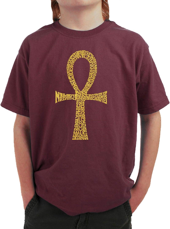 ANKH LA Pop Art Boys Word Art T-Shirt