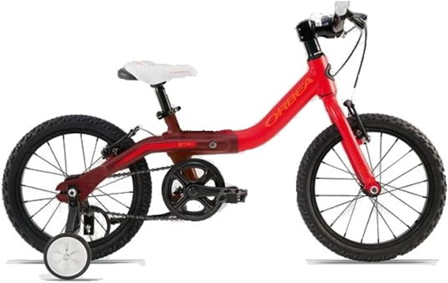Orbea Grow 1 16 Rojo de mate 16 pulgadas 1 Gang bicicleta infantil ...