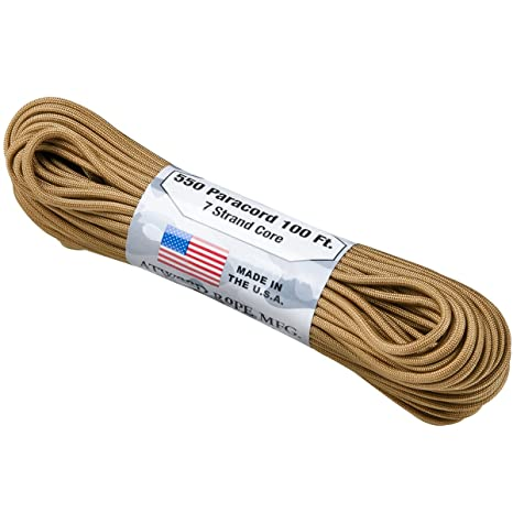 Coyote 30 m Atwood Rope 550 Paracord 4 mm