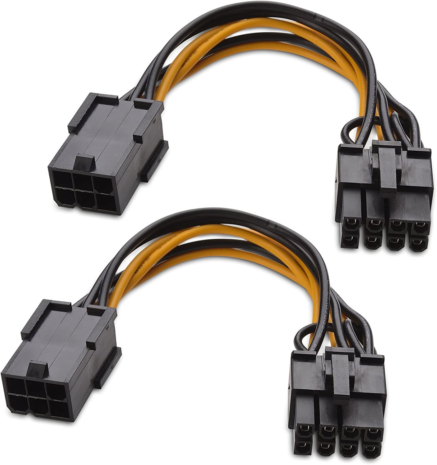 4-pin to 8-pin PCI Express Power Converter Cable for GPU Video Card PCIE PCI-E