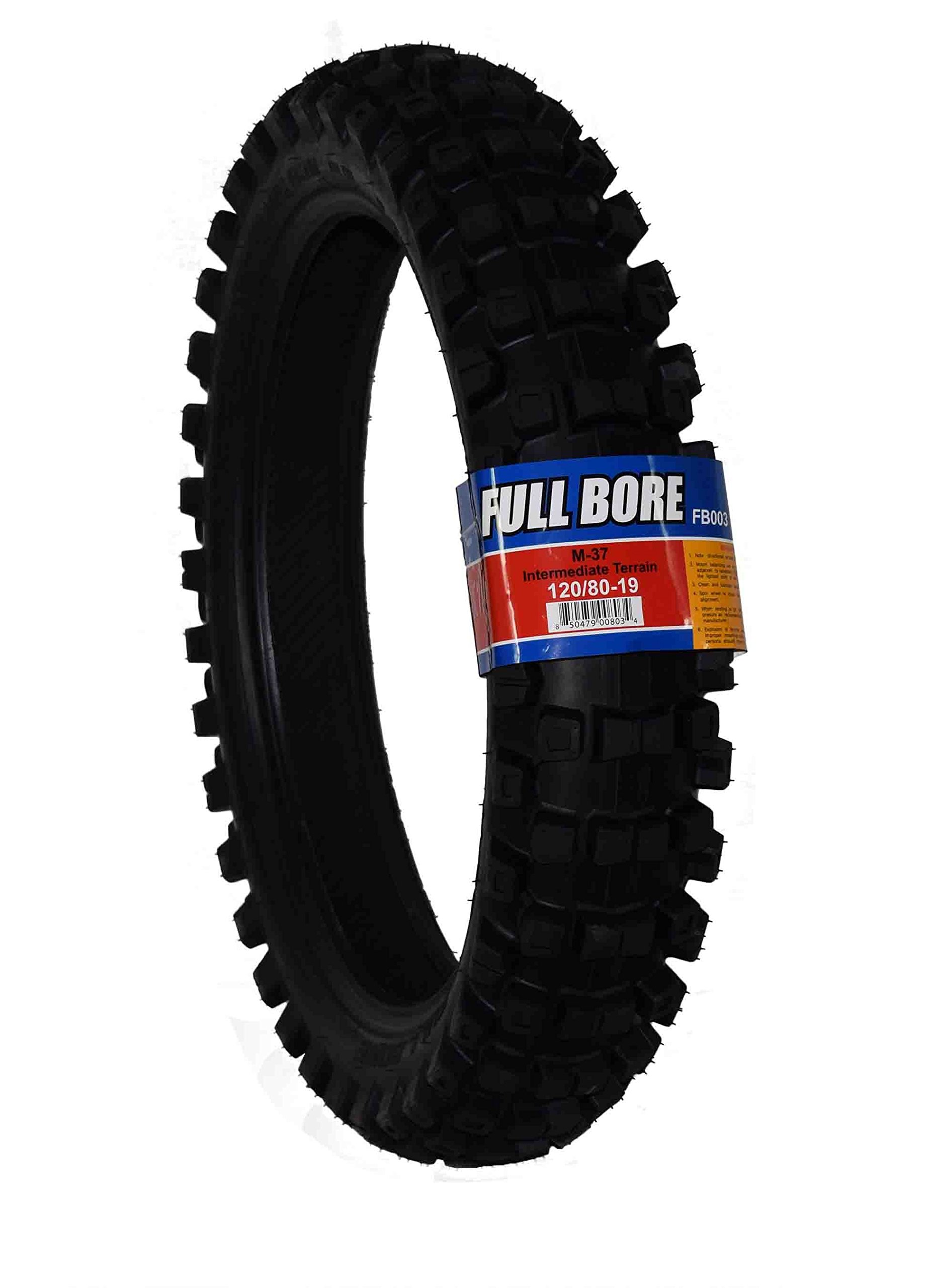 Full Bore Intermediate Terrain Dirt Bike Tire (120/80-19)