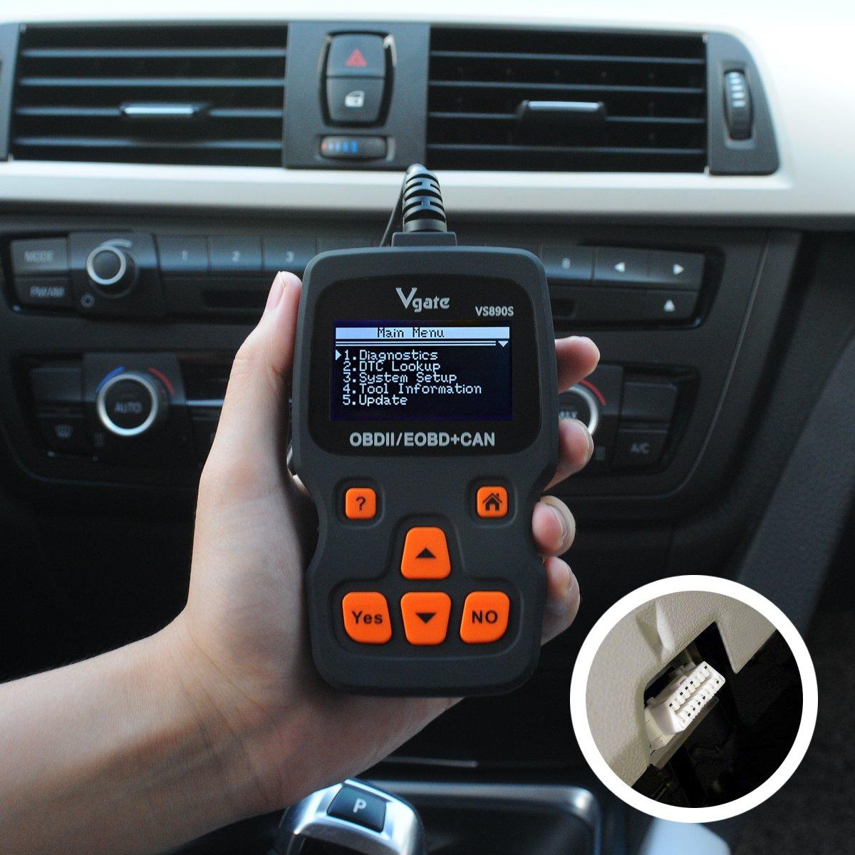 OBD2 Auto Diagnosegerät, OBDII Auto Diagnose-Scanner Auto-Scanner ...