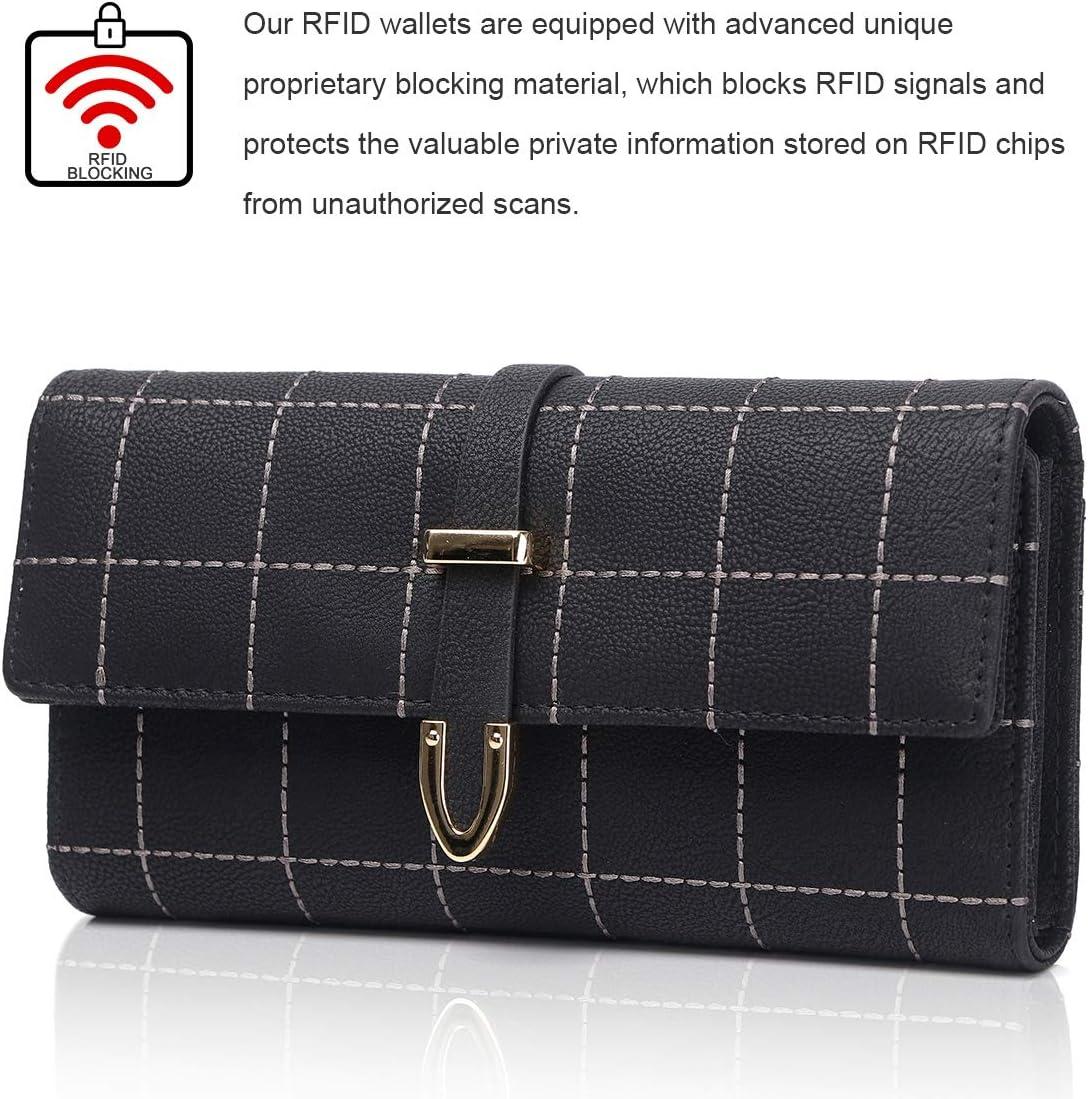 Personnalisé RFID Bloquant Homme Créateur Portefeuille avec boîte cadeau-en cuir véritable