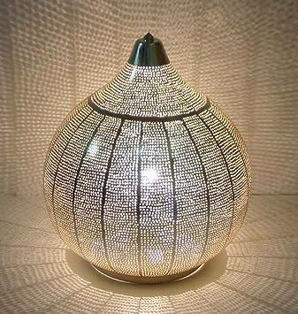 milanari Nayla XL - Lámpara de Mesa (diámetro: 35 cm, Altura ...