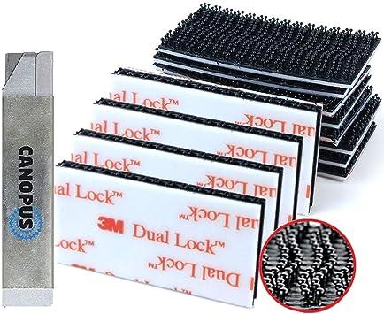 di/ámetro 25,4mm 5 veces mas fuertes que la cinta de gancho y bucle 8 pares CANOPUS 3M Dual Lock SJ3560,16 pz cinta de cierre autoadhesiva, almohadillas autoadhesivas de fijaci/ón