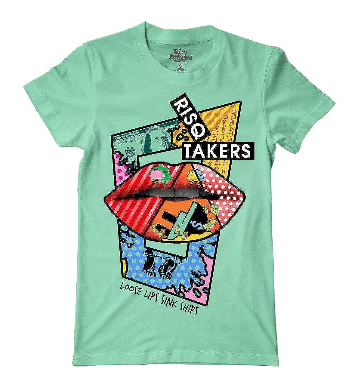 Risq Takers Loose Lips T-Shirt