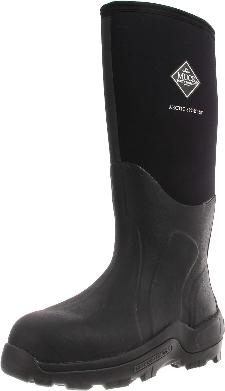 Muck Boot Arctic Sport High Performance Tall Steel Toe Insulated Men's Rubber Work Boot