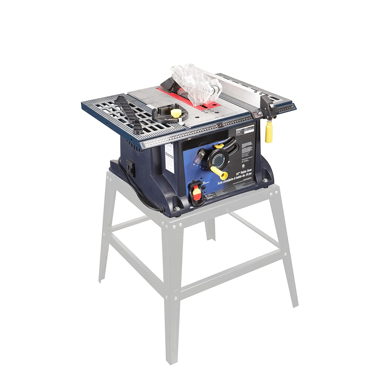 10 in., 13 Amp Benchtop Table Saw -USATM by Chicago Electric Power ...