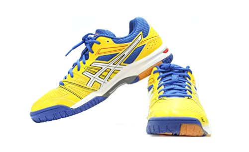 b6ac4f847 ASICS Synthetic Non-Marking Shoes - 8.5UK  Buy Online at Low Prices in  India - Amazon.in