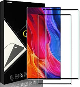 [2 Pack] Yersan Screen Protector for Samsung Galaxy Note 10 Plus, 9H Hardness Anti-Scratch Full Coverage HD Clear Tempered Glass Screen Protector Film for Samsung Galaxy Note 10 Plus