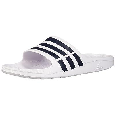 Amazon.com | adidas Duramo Slide Sandal | Sport Sandals & Slides