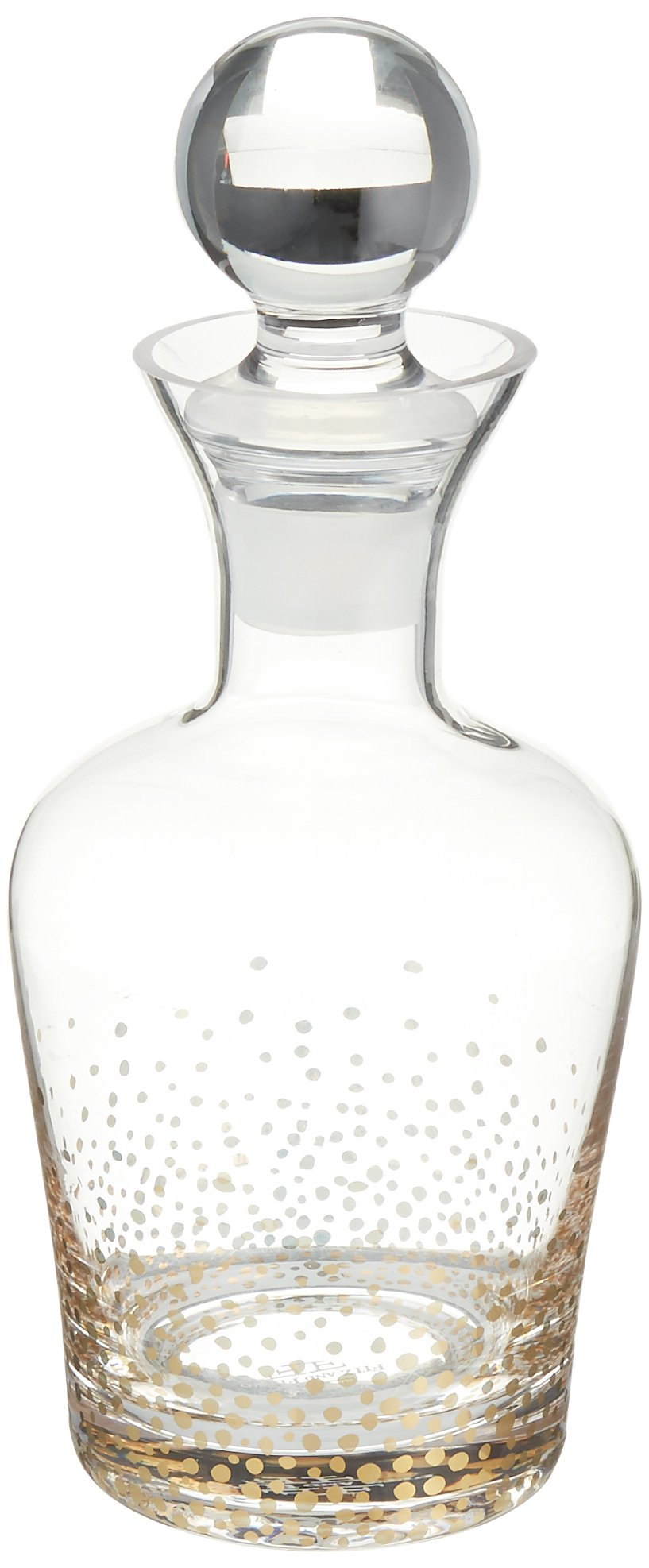 Fitz and Floyd Luster Decanter, Gold