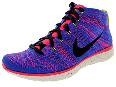 buy popular 12dc3 826e6 Nike Men s Free Flyknit Chukka Pr Qs Gm Royal Obsdn Hypr Pnch Ivry