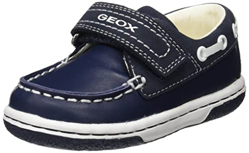 Geox B Flick Boy C, Mocasines para Bebés, Azul (Navy/whitec4211), 23 EU: Amazon.es: Zapatos y complementos