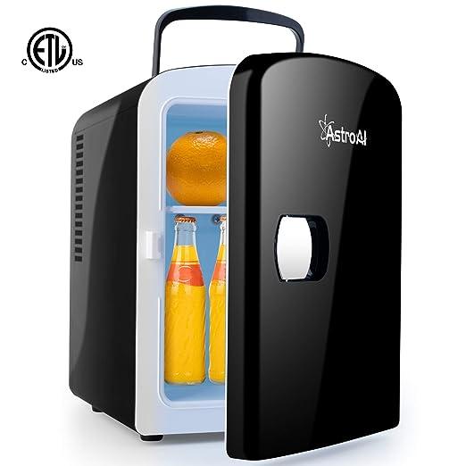 Amazon.com: AstroAI Mini Fridge Portable AC/DC Powered ...