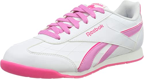 Reebok Royal Attack, Zapatillas de Running para Mujer, Blanco/Rosa ...