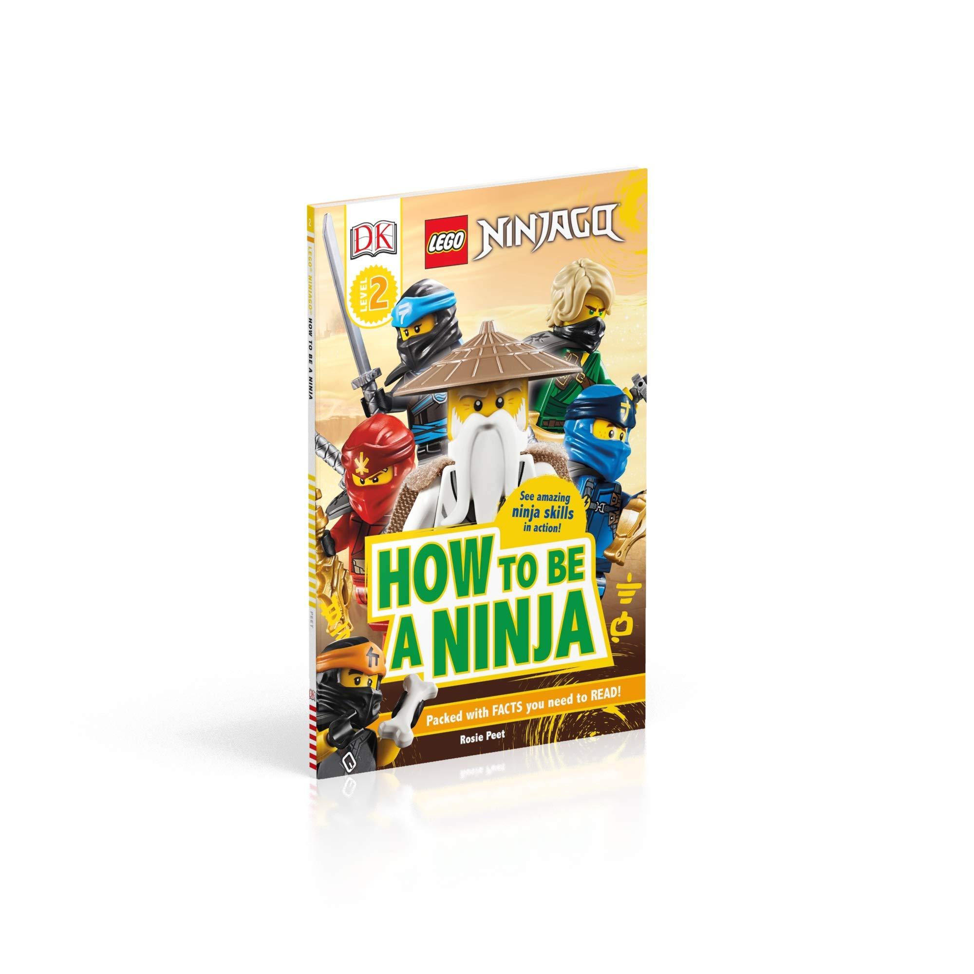 Amazon.com: LEGO NINJAGO How To Be A Ninja (DK Readers Level ...