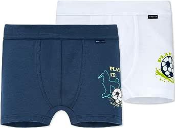 Schiesser Multipack 2 pack Hip Shorts-Slip para Niños