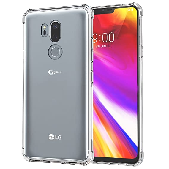 promo code 1b8e7 3091a [2 Pack] LG G7 Case/LG G7 ThinQ Case, SPARIN LG G7 ThinQ Case with Precise  Cut-Out/Camera Protection/Scratch Resistance/Anti Watermark/Soft Nature ...